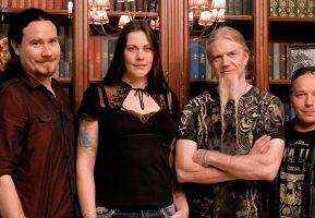 Финская метал-группа «Nightwish» посетила Гармошку