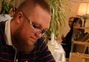 Шоумен Сергей Стиллавин посетил Гармошку для ужина