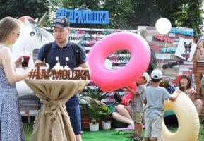 Команда Гармошки снова радовала гостей фестиваля Усадьба Jazz в Рамони
