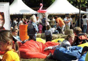 Гармошка на выезде организовала мини-кафе на фестивале «Город-Сад»