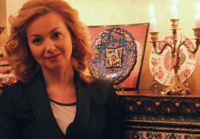Прекрасная Ольга Будина после спектакля в Воронеже посетила Гармошку
