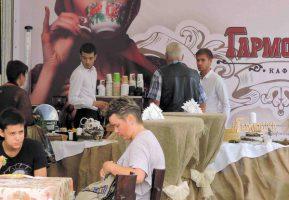 Гармошка организовала art-кафе на выставке «Воронеж-город-сад»