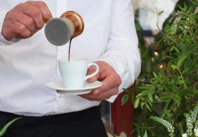 Красивый кофе-брейк для дилерского центра Land Rover «АВТОГРАД плюс»