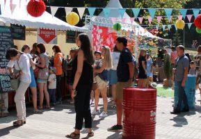 Гармошка на выезде радовала гостей фестиваля «Город-сад»