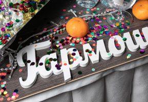 Команда Гармошки организовала яркий фуршет на Карнавальной ночи